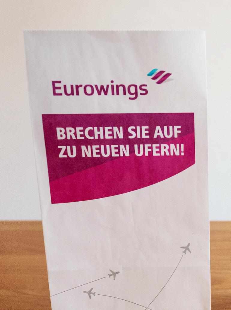 Eurowings Barf Bag