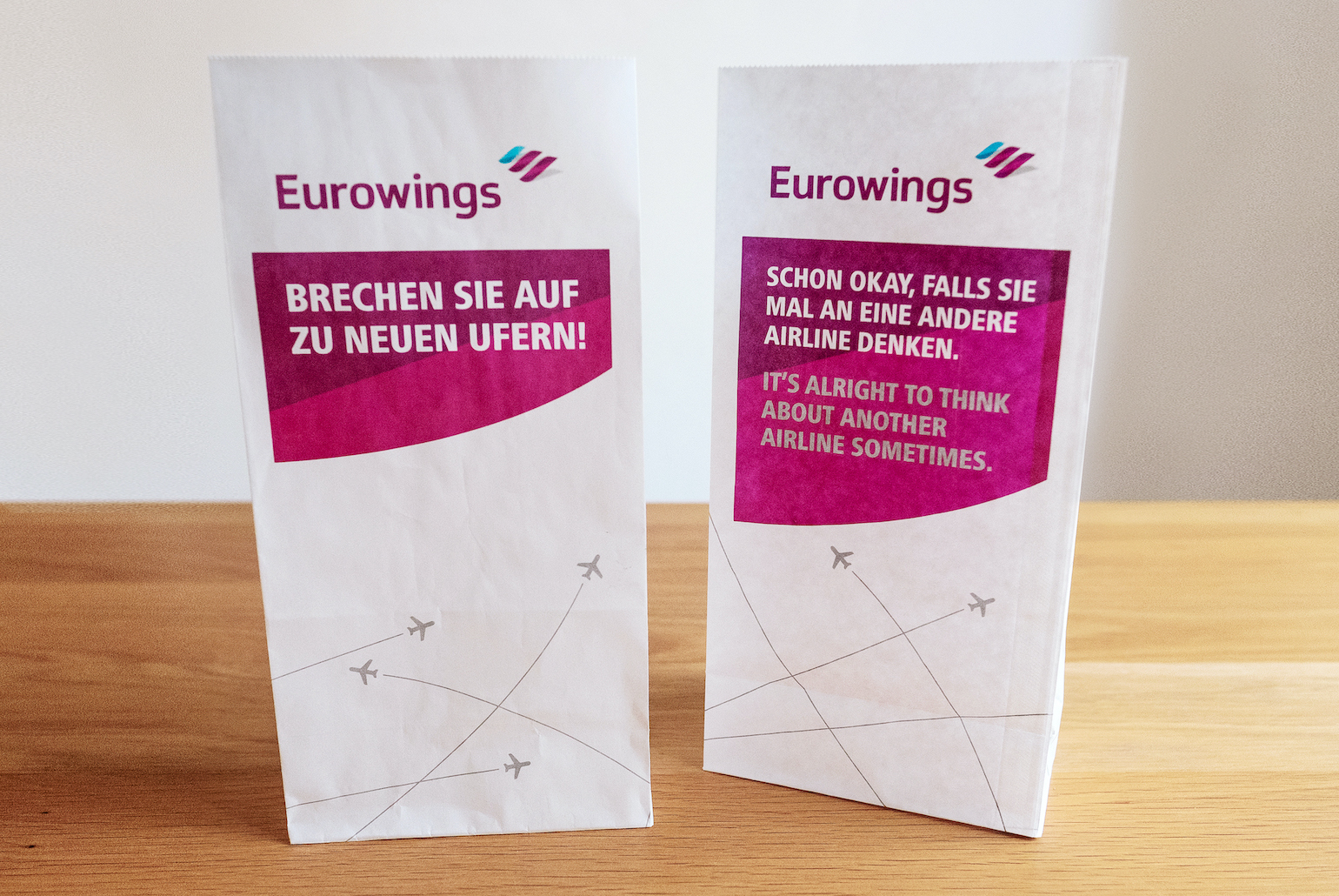 Eurowings Barf Bag